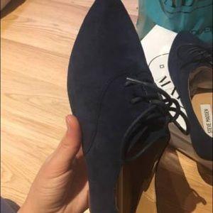 Steve Madden Shoes - Blue suede shoes - Steve Madden